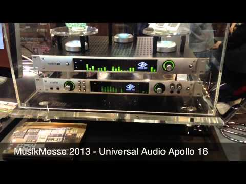 Musikmesse 2013: Universal Audio Apollo 16 Audio Interface ...