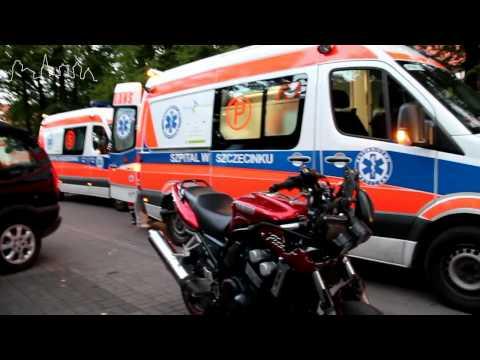 Wypadek motocykla na ul. 3-go Maja www.iszczecinek.pl
