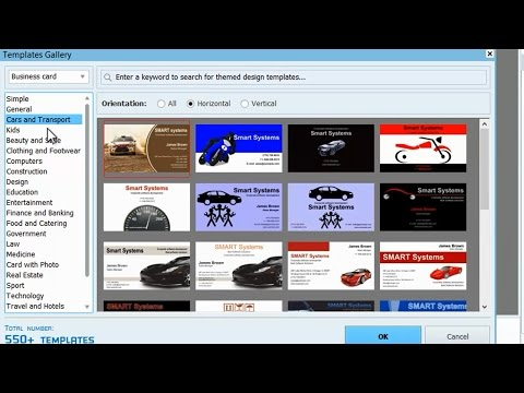 Business Card Maker Software Review