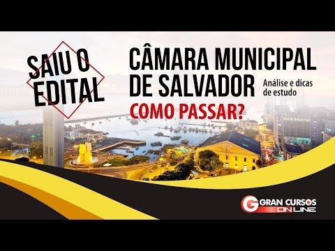 Como Passar? Câmara Municipal de Salvador | Análise do edital e dicas de estudo