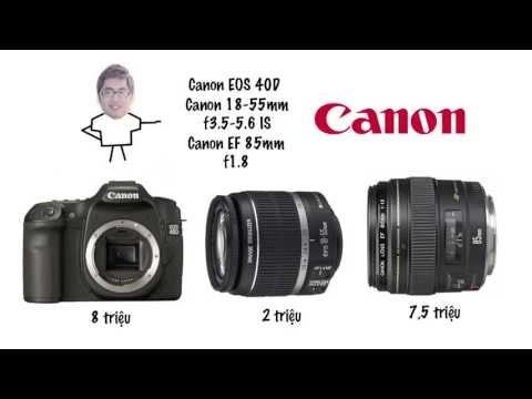 (DucTienLucas) Tư Vấn Chọn Mua Máy ảnh DSLR Dưới 20 Triệu - Canon Nikon