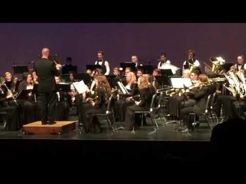 Moses Lake High School Concert Band 10/19/17