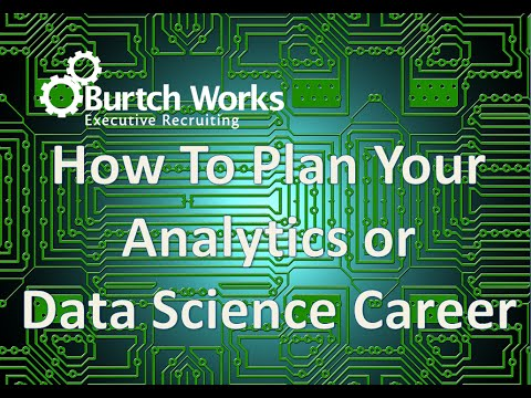 Analytics & Data Science Career Strategy from Analyst to Head Honcho