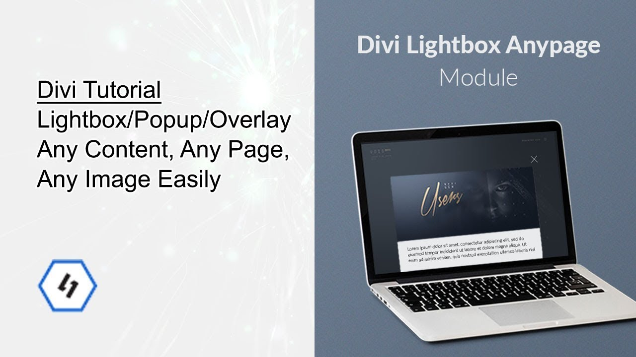 Divi tutorial lightbox popup overlay any content easily youtube - Divi popup module ...