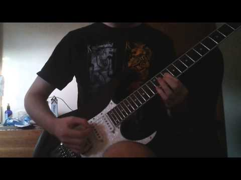 Van Halen - Unchained guitar cover