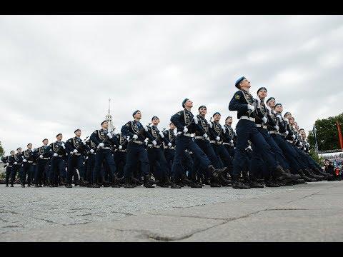 Полная версия военного парада в Воронеже в честь Дня Победы