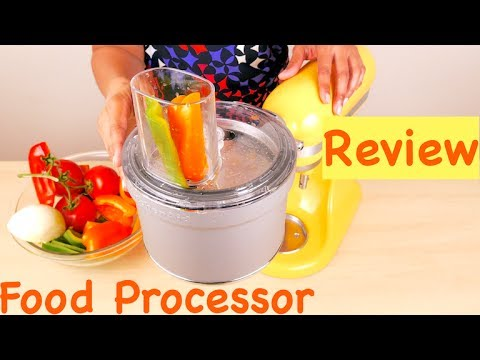 KitchenAid KSM2FPA Food Processor Attachment with Commercial Style Dicing Kit Review