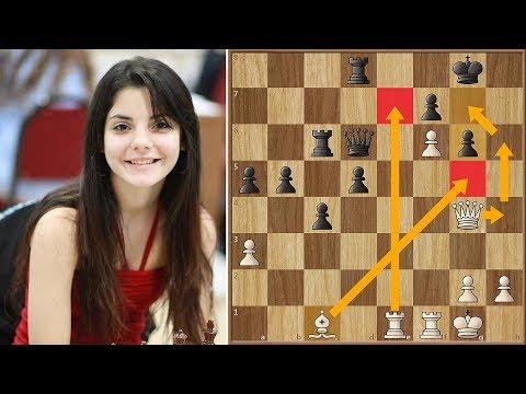 3 Time Argentina's National Champion Maria Florencia Fernández Beats WGM Mitra Hejazipour