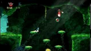 Тентакли и Элис. ЭроПлей Rayman Origins #3 Хентай Тентакли