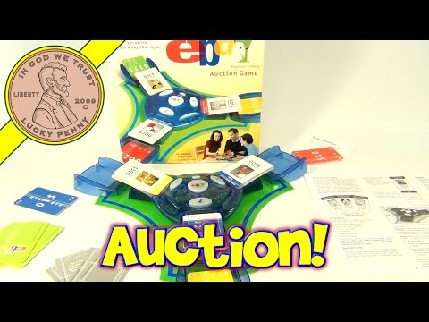 eBay Electronic Talking Bidding Buying Selling Auction Board Game by Hasbro