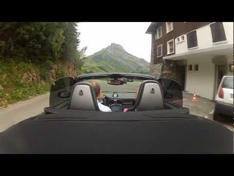 Porsche 911 Driving through the Swiss and French Alps Day 2, Part 2 Porsche vs Dacia Duster ;)))