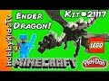 Minecraft Lego Ender Dragon Kit 21117 Build