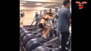 Приколы в спортзале! Приколы в тренажерке! Супер угарная подборка! Fun in the gym