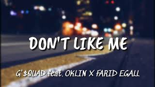 LAGU HIP HOP 'DON'T LIKE ME' [ LIRIK ]