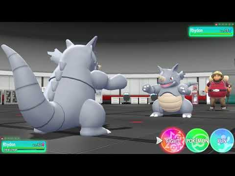 Download How To Catch Rhydon Pokemon Lets Go Pikachu And Eevee Where