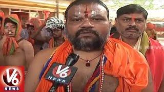 Devotees Throng To Kondagattu Anjanna Temple   Hanuman Jayanthi   V6 News
