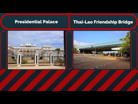 Presidential Palace and Thai-Lao Friendship Bridge | Vientiane | Laos |