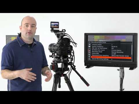Canon EOS C300 Mark II Tutorial Series: Internal Recording