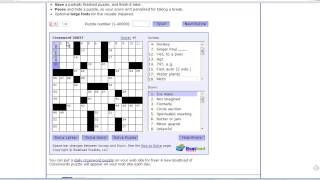 Best Alternative to Find Words–Moving Crossword Puzzle