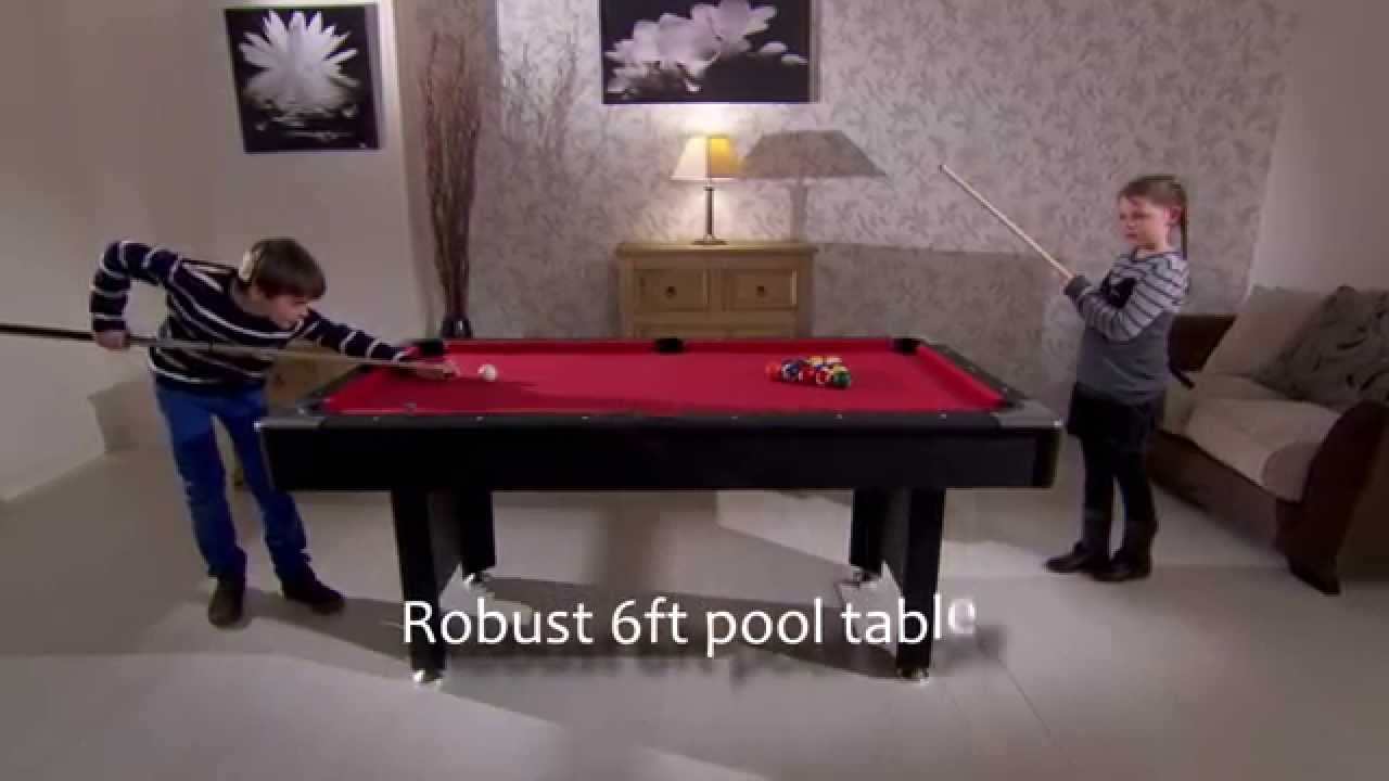 WS Monarch Ft Pool Table With Ball Return YouTube - Monarch pool table