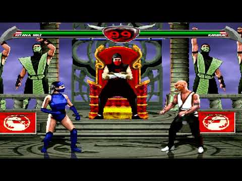 Mortal Kombat Chaotic - MK2 Kitana playthrough