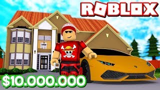BUILDING MY $10 million MANSION at ROBLOX → Mansion Tycoon 3 🎮