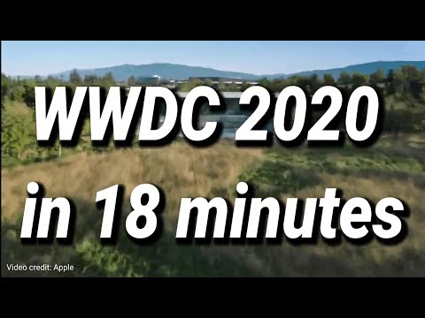 Apple WWDC 2020 keynote in under 20 minutes