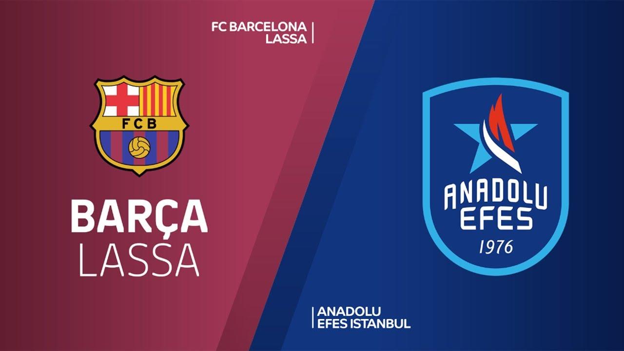 ÖZET | FC Barcelona Lassa - Anadolu Efes Videosu