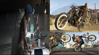 GTA 5 Online New Biker DLC Update - New Cocaine/Weed Business, Bikes, Melee Weapons + Guns & Outfits