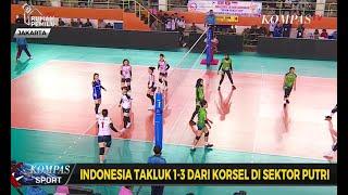 Tim Voli Putra Indonesia Kalahkan Korea Selatan