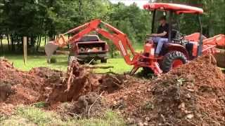 Building My Own Home: Episode 1 - Removing the last 3 stumps from our house site.