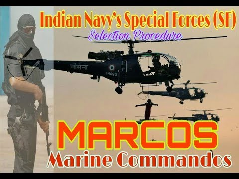 Marine Commandos ! How to beacome a MARCOS ? By Non Stop INDIA.