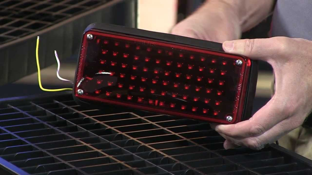 hight resolution of whelen 700 series led brake tail turn lighthead youtube rh youtube com strobe light wiring diagram