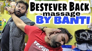 ASMR head massage and best ever massage therapy by indianbarber BANTI.