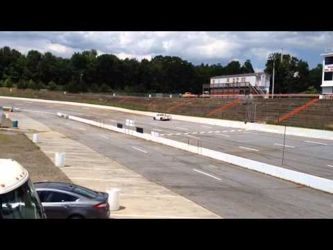 Cole Glasson Testing At Tri County Speedway