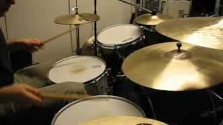 Pyhtiö's drum solo
