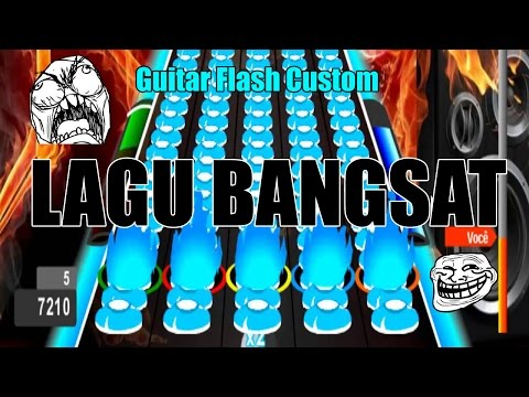 Sampe Pegel Tangan - Guitar Flash Custom Uber Song By Invader (not Clear)