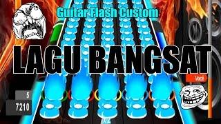 Sampe Pegel Tangan - Guitar Flash Custom Uber Song By Invader  Not Clear