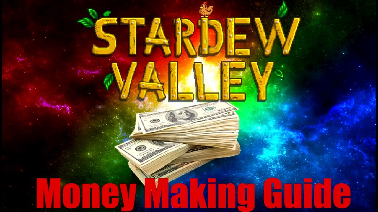 how to earn money in stardew valley how to make money in stardew valley youtube 1210