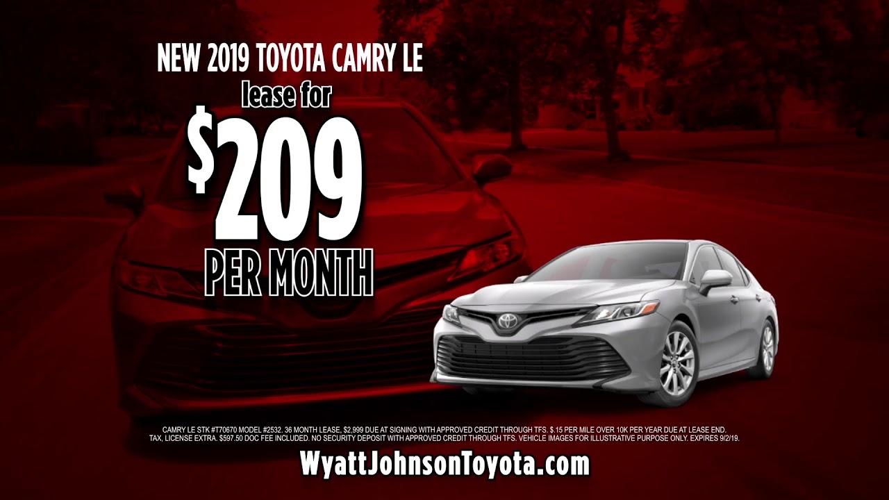 Wyatt Johnson Toyota >> Wyatt Johnson Toyota Tent Sale Youtube