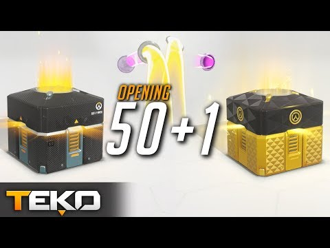 Rocznicowy Opening Skrzynek! Legendarny Loot Box! [Overwatch]