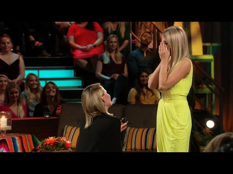Kristian Proposes to Demi - Bachelor in Paradise