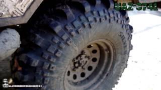 UAZ 3741 Шины SILVERSTONE MT-117 Extreme(Небольшое видео об УАЗ 3741 на колесах 35/11.5/R15 Шины SILVERSTONE MT-117 Extreme Произведен лифт кузова-подрезка арок-устано..., 2013-11-08T04:32:22.000Z)