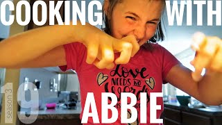 Autism Therapy In Real Life ~ Cooking With Abbie
