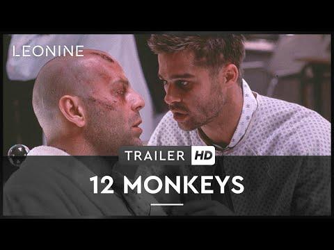 12 Monkeys - Bruce Willis, Madeleine Stowe, Brad Pitt