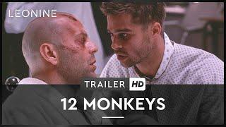 Offizieller HD Trailer zum SciFi-Kult 12 Monkeys mit Brad Pitt und ...