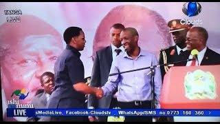 Makonda na Ruge Wapatanishwa na Magufuli Jukwaani