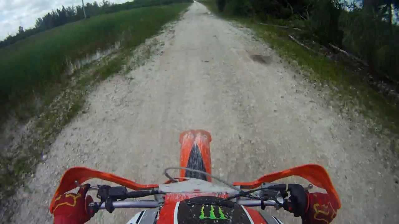 2009 ktm 300xc top speed run - youtube