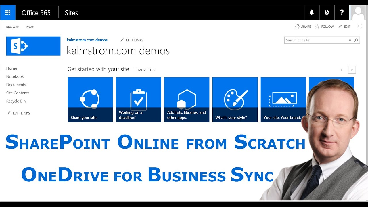 Sync SharePoint library and PC folder with OneDrive for Business