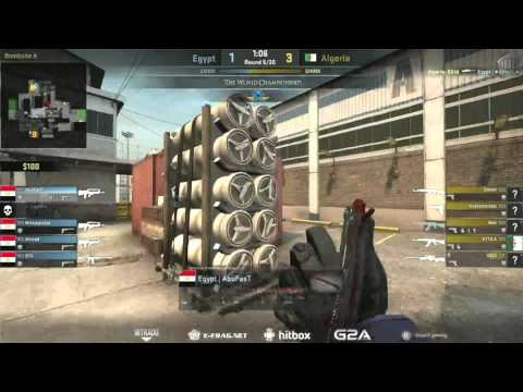 The World Championships 2015 (African Qualifier) | Algeria vs. Egypt | (Map: Cache)